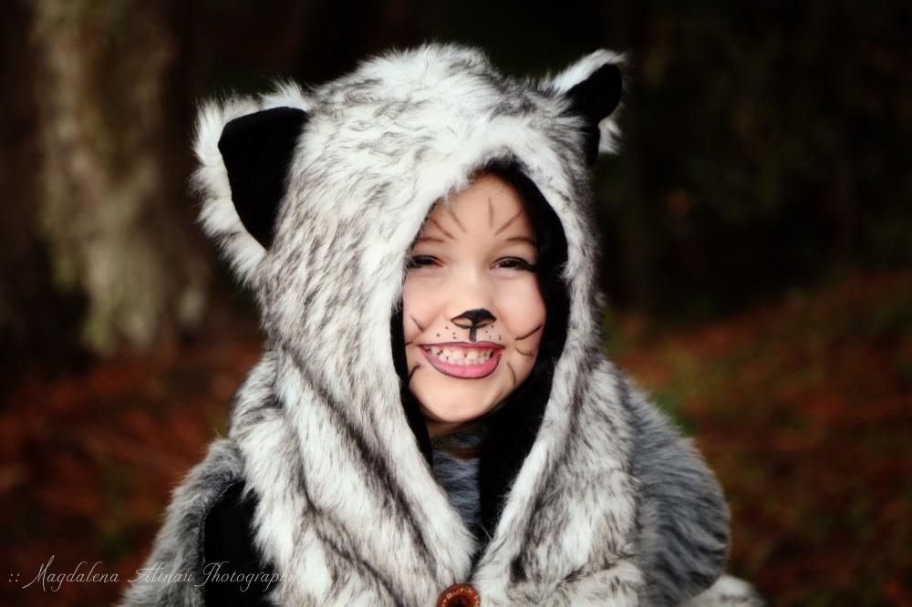 Halloween 2015 - The Big Bad Wolf : VII : The Bluestocking At Home
