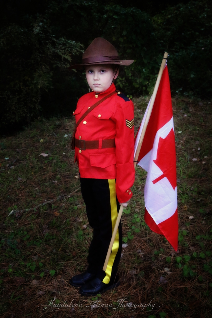 Halloween 2015 - My Canadian Mountie : I : The Bluestocking At Home
