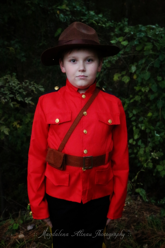 Halloween 2015 - My Canadian Mountie : III : The Bluestocking At Home