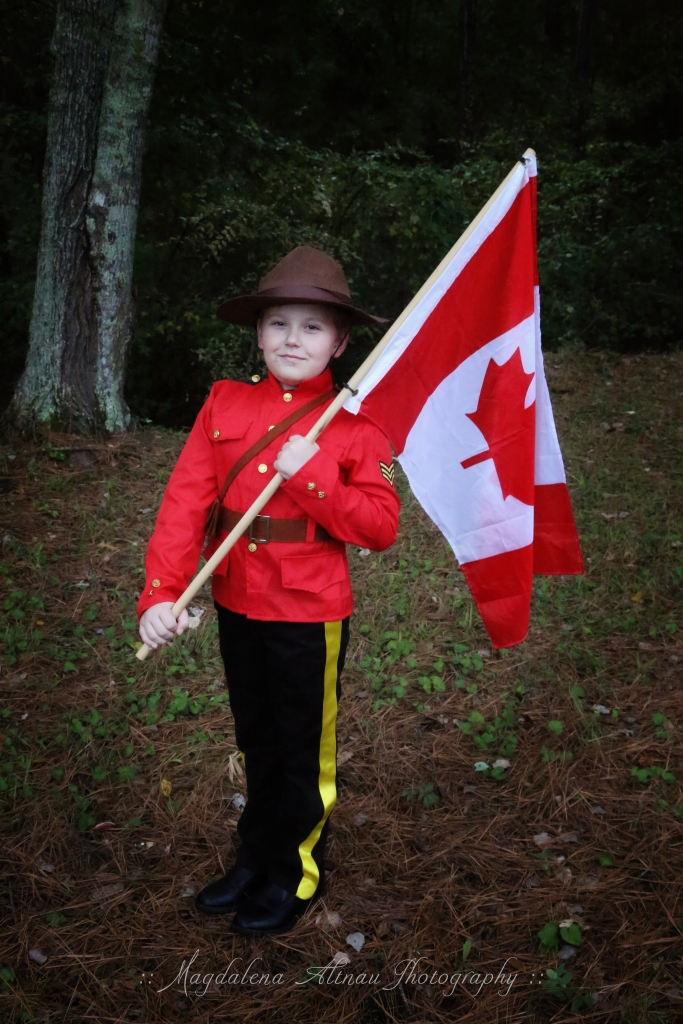 Halloween 2015 - My Canadian Mountie : IV : The Bluestocking At Home