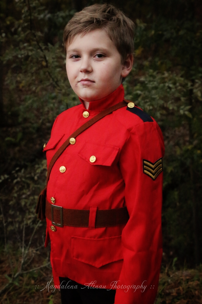 Halloween 2015 - My Canadian Mountie : V : The Bluestocking At Home