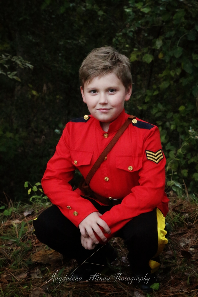 Halloween 2015 - My Canadian Mountie : VII : The Bluestocking At Home