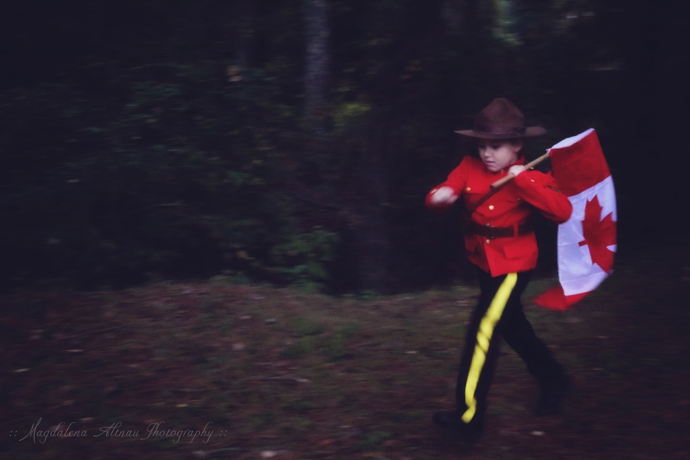 Halloween 2015 - My Canadian Mountie : X : The Bluestocking At Home