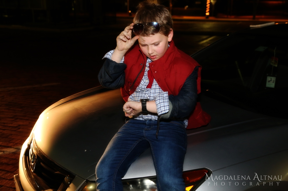 Bluestocking At Home - Halloween 2016 - Marty McFly (II)