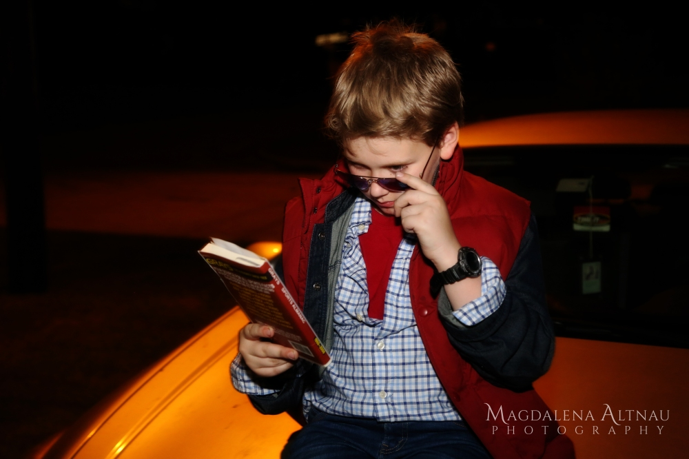 Bluestocking At Home - Halloween 2016 - Marty McFly (IX)