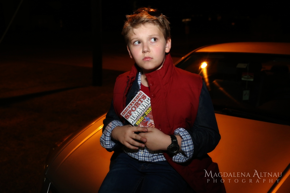 Bluestocking At Home - Halloween 2016 - Marty McFly (XI)