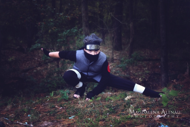 Bluestocking At Home | Halloween 2017 | Kakashi Sensei (4)
